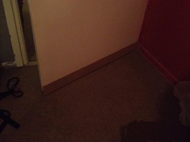 Después de atornillar poner la puerta de nuevo en su lugar.