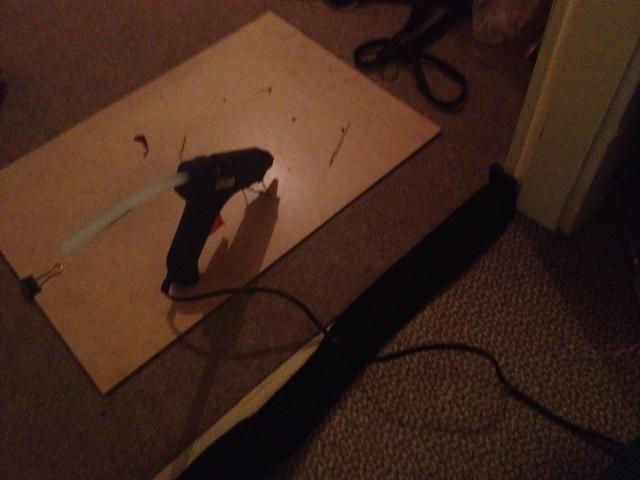 He utilizado una izquierda sobre espuma acústica de un proyecto anterior para cubrir la brecha.