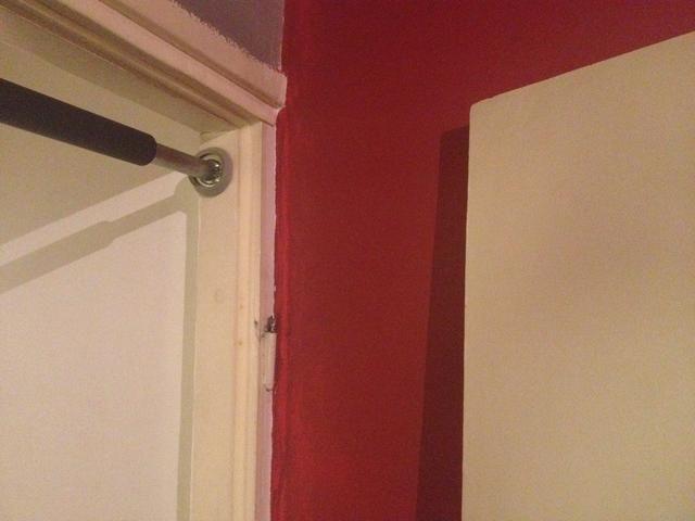 Desmontaje de la puerta hace que sea más fácil