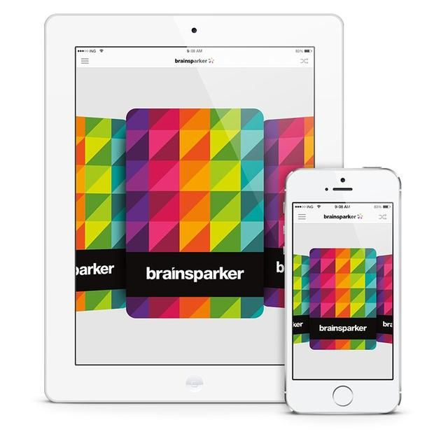 Eso's where the brainsparker app comes in. We've created it for the sole purpose of disrupting your routine thinking so you can come up with better and smarter ideas.