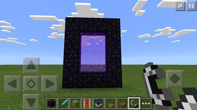 En primer lugar hacer su portal nether y saltar en. (Hice una guía para el portal inferior si don't know how.)