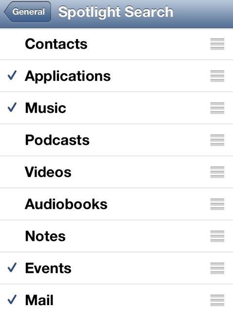 Cómo acelerar tu iPhone / iPod Touch / iPad