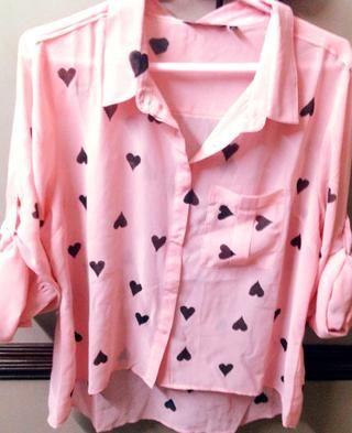 Y Ta-Da! Mira que se transforman en esta camisa adorable que pueda't wait to flaunt!