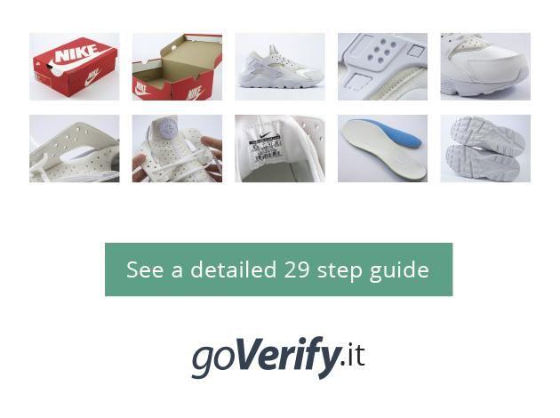 Ir a goverify.it de 29 puntos guía muy detallada completa paso a paso en la detección de falsos Air Huaraches Nike.