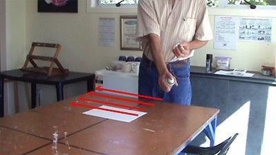 Barra de ida y vuelta sistemáticamente para cubrir toda la hoja de manera uniforme y ligera.
