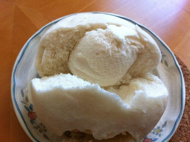 Cómo Vapor mantou (A asiática bollo liso) en una receta de microondas