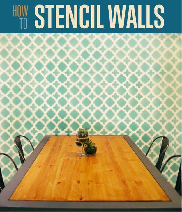 Fotografía - Cómo Stencil Un Muro