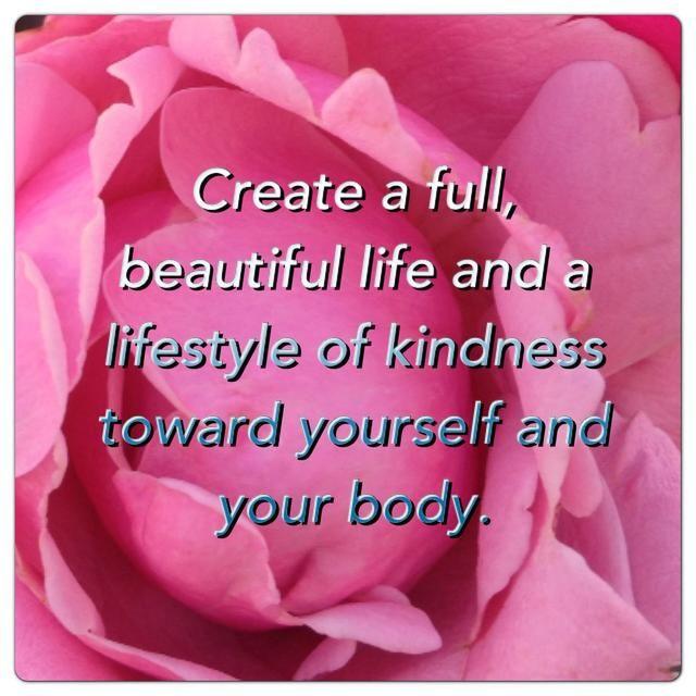 Llegar a vivir a su peso natural, en su cuerpo radiante, en su vida gozosa, sin dieta.