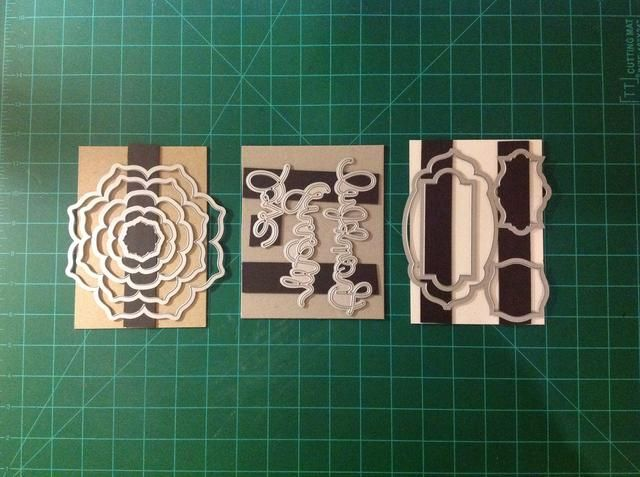 aquí's some examples of other dies and some different magnet layouts. Now, go try your own!