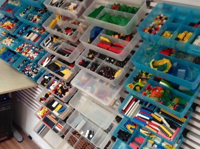 Forma de guardar sus ladrillos LEGO para Quick & Easy Building