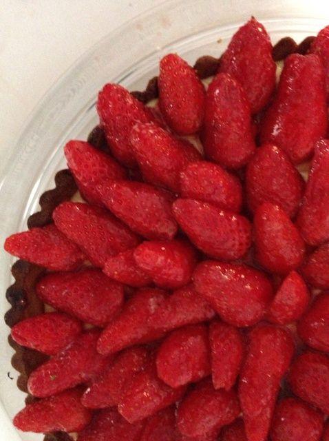 Fotografía - Cómo Tarta de la fresa
