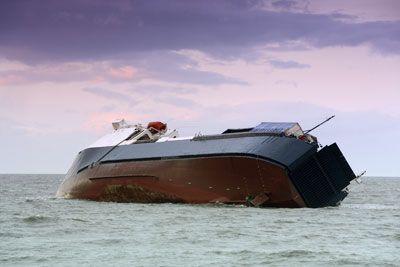 Fotografía - Cómo sobrevivir a un barco que se hunde