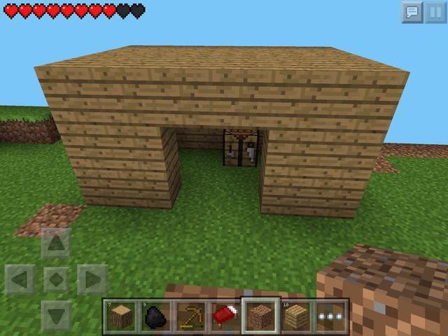 Las paredes y el techo completo, justo a tiempo!