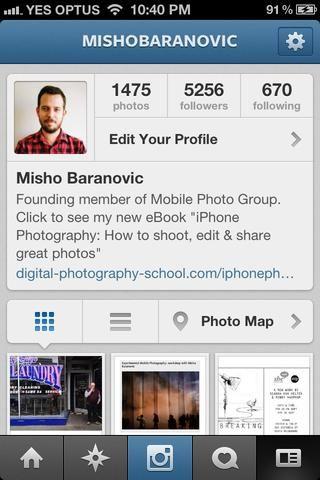 Por favor, siéntase libre de hacer preguntas en cualquier diapositiva. También puedes encontrarme en mishobaranovic.com omishobaranovic (Instagram y Twitter).