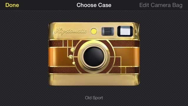 Usted puede incluso cambiar la caja de la cámara, que está muy bien.