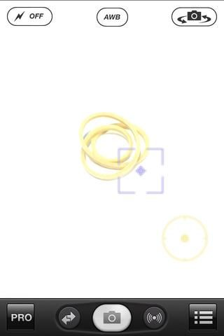 Aquí la banda de goma es más expuesta que la exposición fue encerrado en una exposición mucho más oscuro. Pulsando en el icono de CIRCLE y re-ajuste de la exposición de la imagen estará expuesta correctamente.