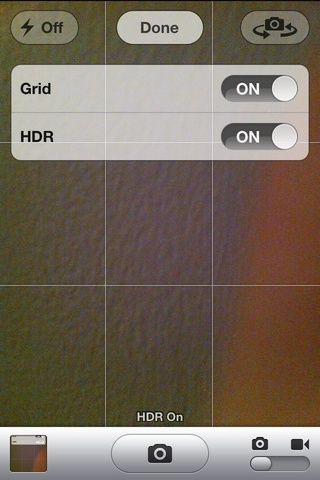 Ahora que se's on, you're guaranteed to get better quality pictures than before. ( turning on the grid is optional)