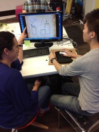 Los estudiantes tienen 20 minutos para explorar cualquier nivel que quieren. Si los que resuelven un nivel, pueden seguir explorando otros niveles.