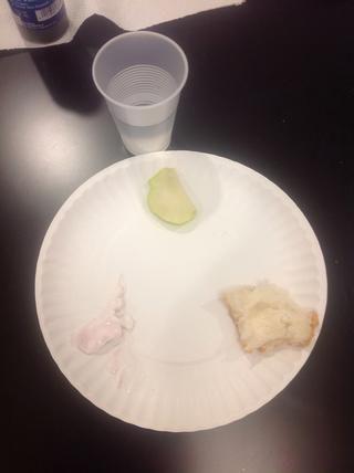Preparar las muestras para la prueba de agua.