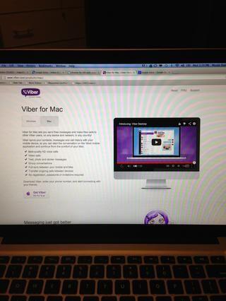# 3: Viber es una llamada y mensajes de texto aplicación gratuita. para Windows, Mac, iOS, Android, Blackberry y más. Las llamadas de voz suenan la más clara utilizando esta aplicación.