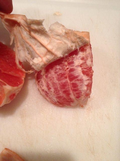 Cómo La manera más fácil de cortar y disfrute de pomelo Receta