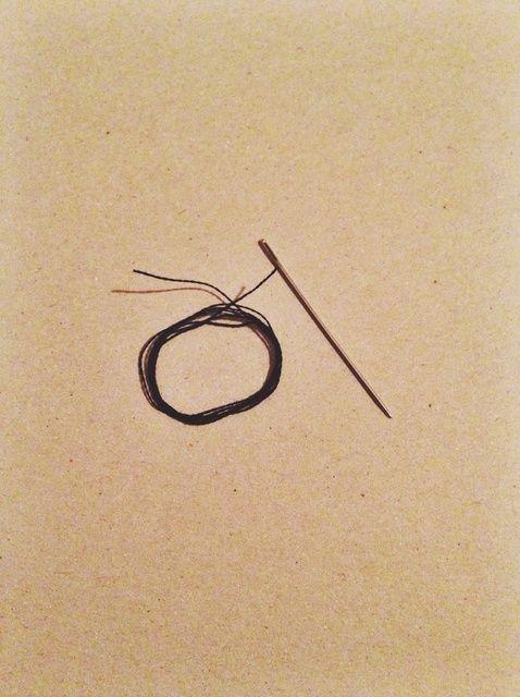 Cómo Hilo y anudar una aguja