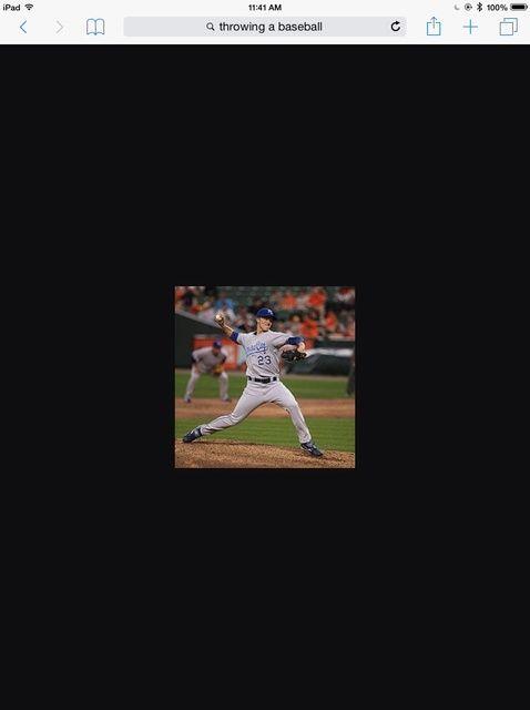 Fotografía - Cómo lanzar una pelota de béisbol