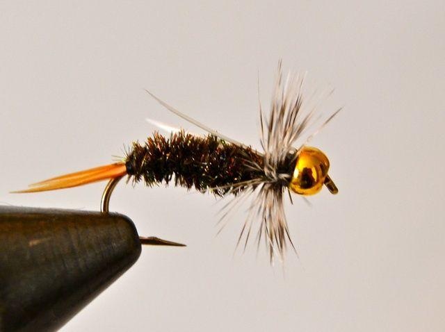 Fotografía - Cómo atar una ninfa de cabeza príncipe del grano por la pesca con mosca