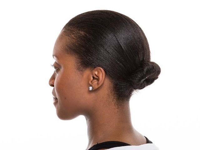 Fotografía - Cómo atar su pelo recogido en un moño