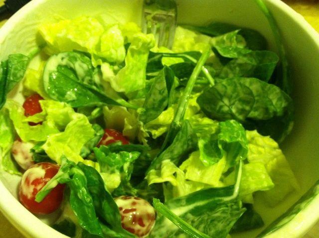 Fotografía - Cómo Mezcle una ensalada rápida, simple, y saludable!