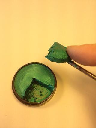 Levante la parte de pintura.