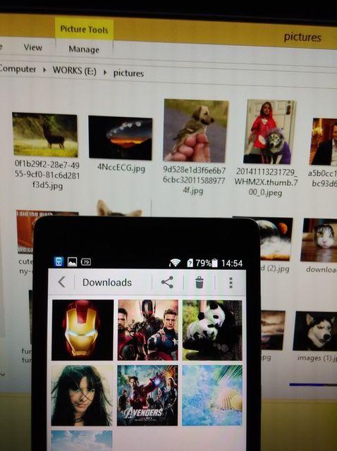 Cómo transferir fotos desde Android para PC