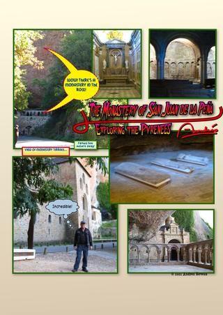 Una de las curiosidades! Un monasterio en la montaña!