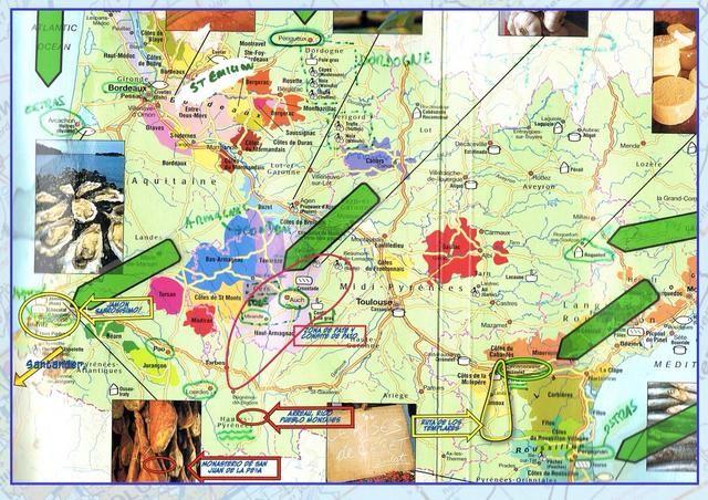 Obtener y elaborar un mapa señalando sus intereses favoritos ... Mina incluyen comida, el vino y el ambiente agradable. :) Usted será w de almacenamiento limitado y escaso tiempo para la lectura en tránsito ... para planificar el futuro.