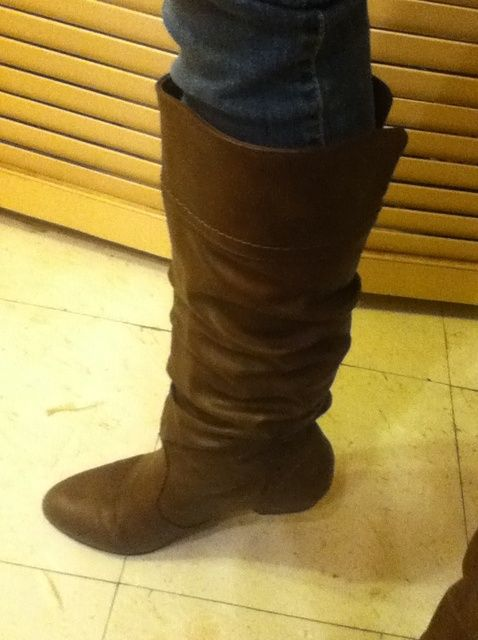 Fotografía - Cómo Meta Vaqueros ajustados no en las botas