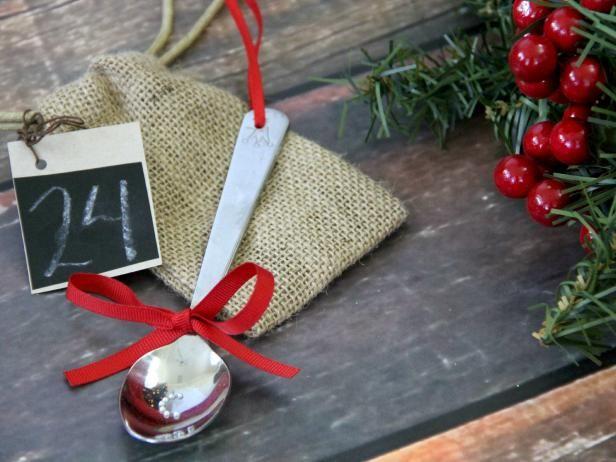 Fotografía - Cómo convertir una cuchara de bebé en un ornamento de navidad