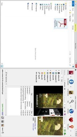 Seleccione su PDF y arrastrarlo a CALIBRE