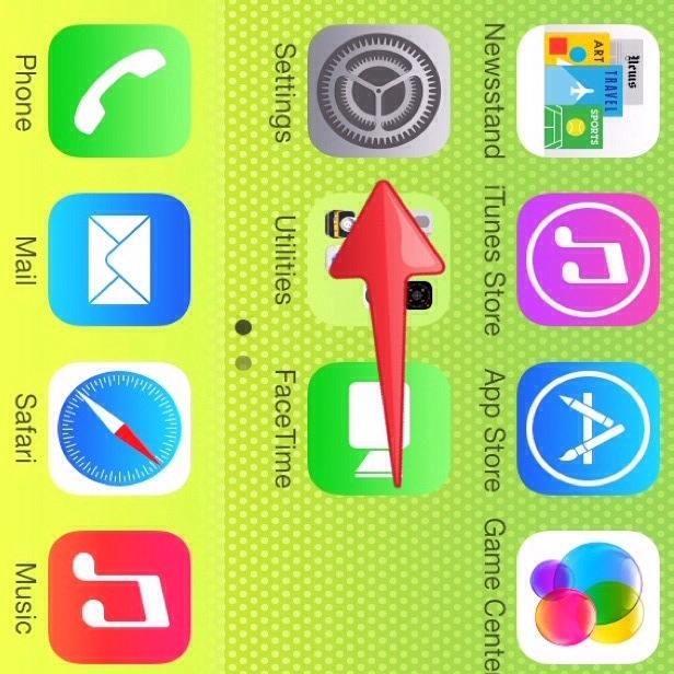 1) Por favor, vaya a la App Configuración.