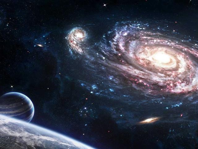 Algunos chicos querían examinar las cosas grandes como estrellas y lunas y Endor.