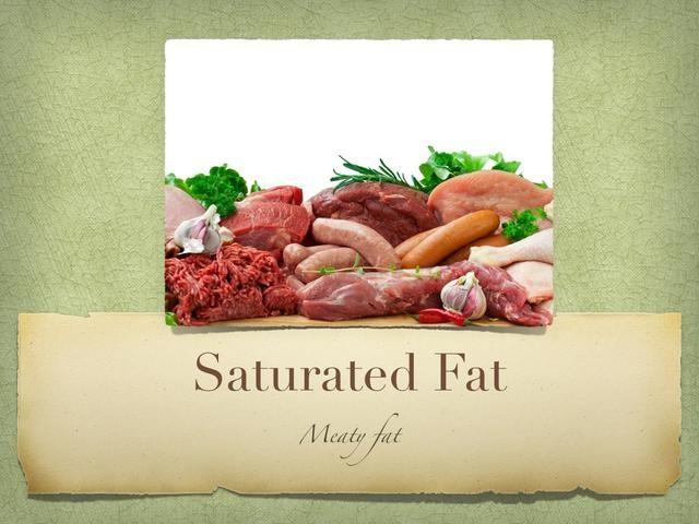 Grasas saturadas son malas grasa también! Pero no es tan malo como TRANS FAT. En la moderación, la grasa saturada no puede ser perjudicial, pero sigue siendo mala.