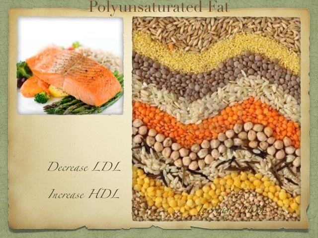 ¡GRASA POLI-INSATURADA! BUENA FAT! Disminuye los niveles de LDL malo y aumenta sus buenos niveles de HDL! ¡LUZ VERDE!