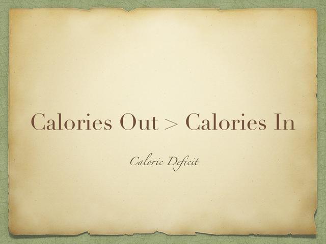 Sin embargo, si las calorías que quema es más que las calorías que usted come, entonces usted tiene un déficit calórico, y usted perderá el peso. Su cuerpo va a robar la energía de la grasa o músculo almacenado.