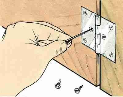 Cómo para despegar una puerta