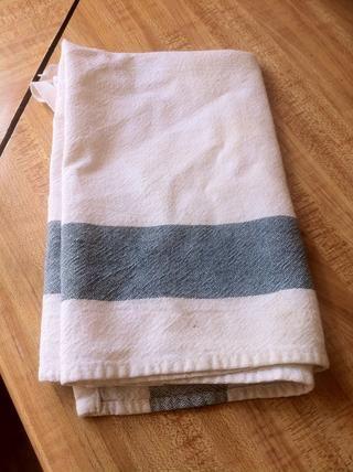 Coge cualquier tipo de pequeña toalla o paño