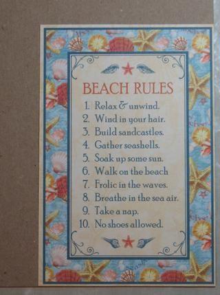 Pegue 2 del dicho de la arena y surf modelado de papel a la 4