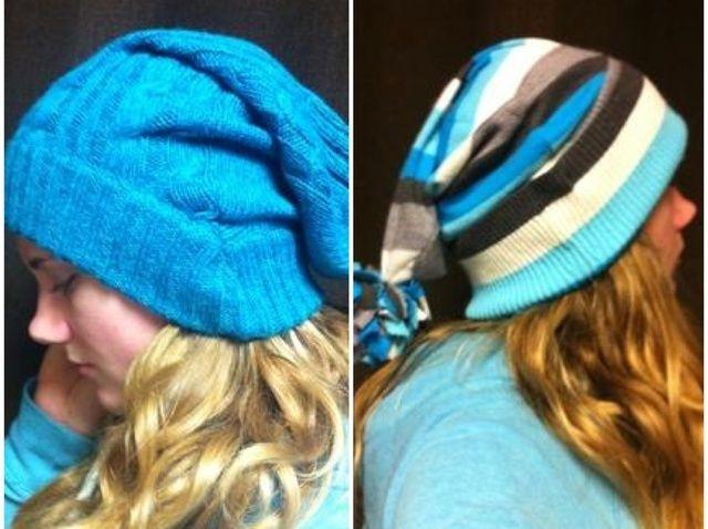 Fotografía - Cómo upcycle un suéter viejo en un sombrero lindo