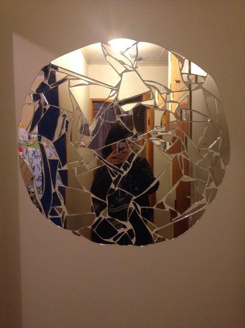 Fotografía - Cómo upcycle Espejos rotos en fresco Decoración