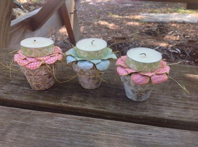 Fotografía - Cómo upcycle crisoles de arcilla Into votivas Pascua