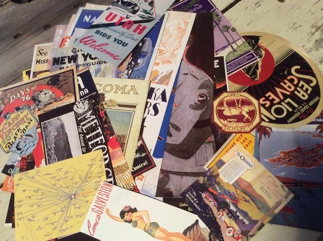 Cualquier material de papel se trabajo revistas, fotos, mapas, Ephemeras del vintage, papel del libro de recuerdos, etc.
