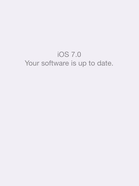 Cómo actualizar a iOS 7